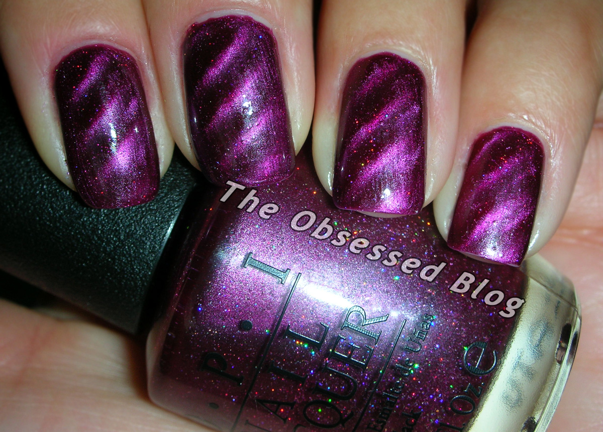 OPI Magnetic Skyfall Collection   The Obsessed