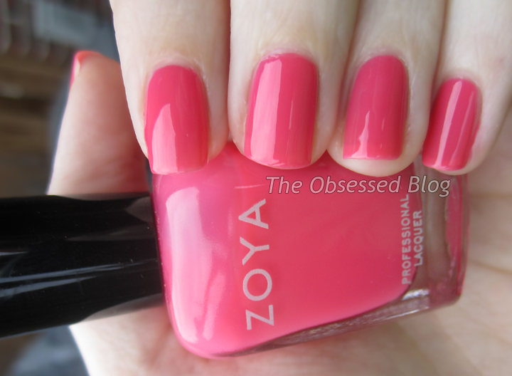 Maya Is A Beautiful Soft Watermelon Pink That Just Treat On My Nails While Not True Jelly This Polish Really Has Great Squishiness Makes Me