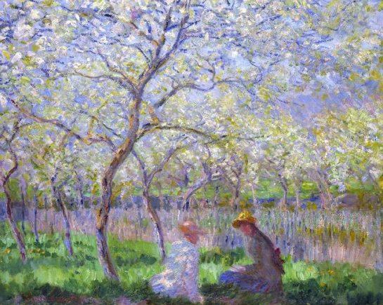 Monet Le Printemps