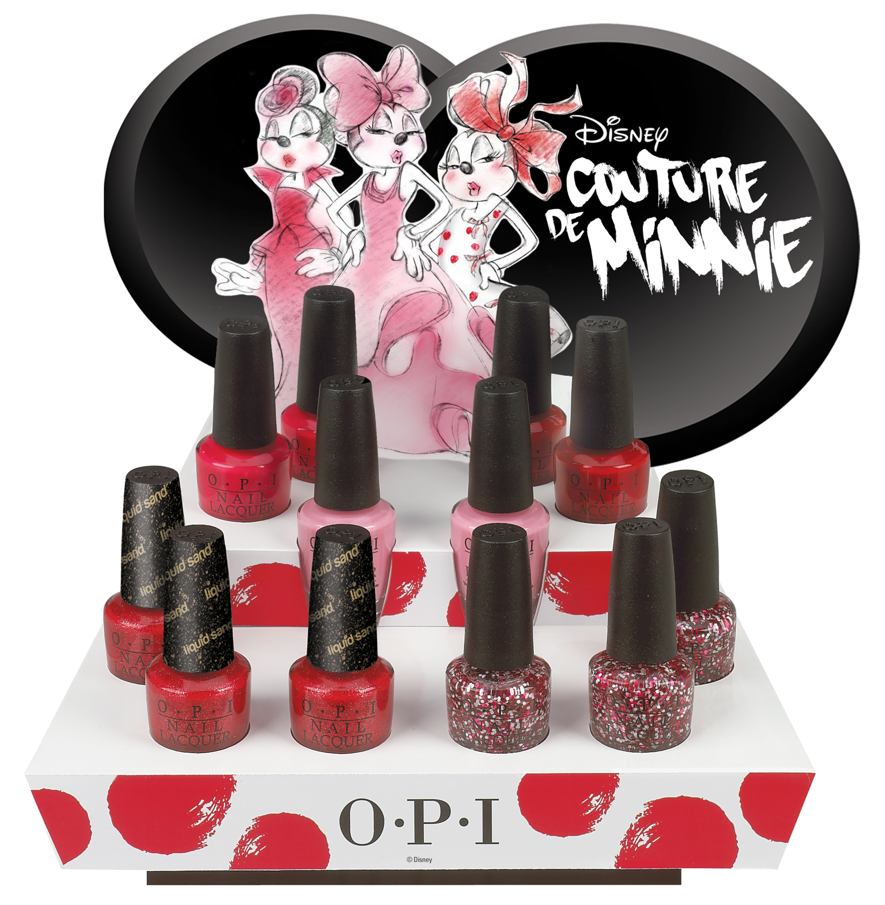 New Couture de Minnie Nail Lacquers, Inspired by Minnie Mouse! | The ...