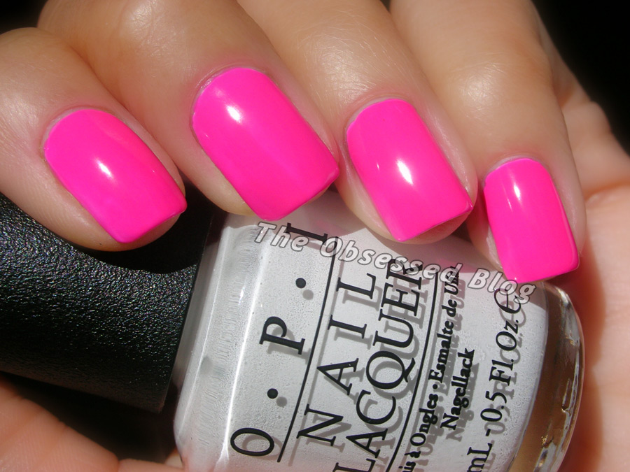 OPI Neon Revolution – Pink! | The Obsessed