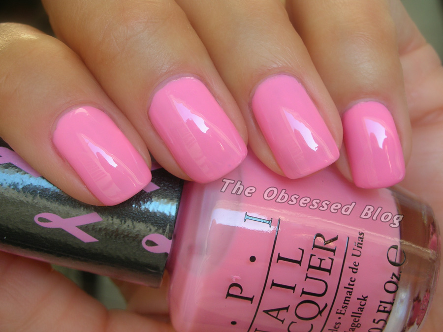 Opi Pink Of Hearts The Obsessed