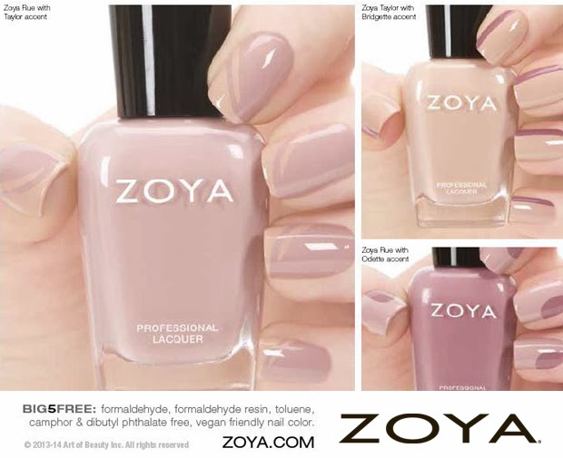 Zoya Nail Polish Naturel Collection | The Obsessed