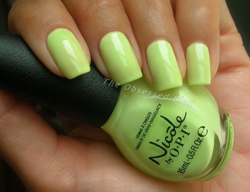 Nicole by OPI Neon Gradient | The Obsessed
