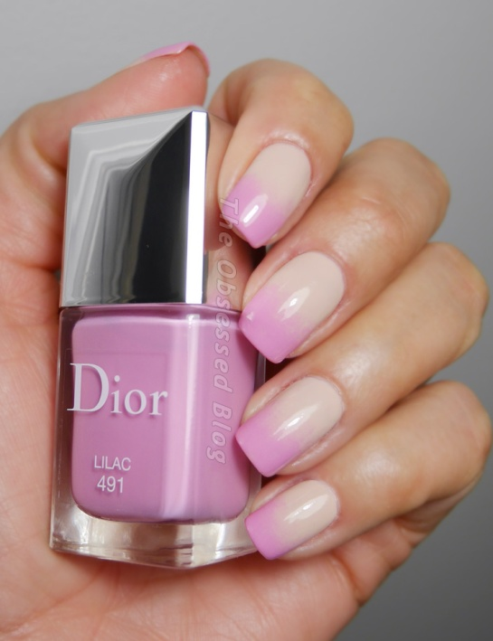 Dior Glowing Gardens Vernis Lilac Gradient
