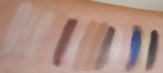 UD Gwen Stefani Shadow swatch all